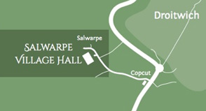 Contact details for Salwarpe Village Hall